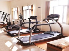 Fitness hour with upgraded gym facilities.